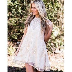 Southern Fried Chic Serendipity Dress Size Medium